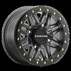 RACELINE A91-G RYNO GUNMETAL UTV BEADLOCK WHEEL 15X7 4X110 LUG PATTERN