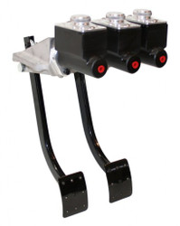 "JAMAR PERFORMANCE REVERSE SWING CLUTCH / BRAKE PEDAL ASSEMBLY 3/4"" CLUTCH , 1""X1"" BRAKE MASTERS"