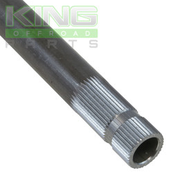 """3/4-36 spline chromoly shaft 12 """" long"""