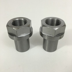 "1 1/4""-12 LHT HEX HEAD THREADED BUNG FOR 1 1/2"" ID TUBE"