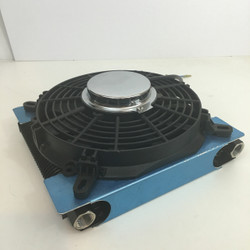 72 plate universal oil cooler kit with 2500 cfm fan