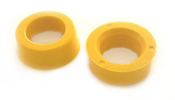 "SACO PERFORMANCE YELLOW DELRIN REAR SPRING PLATE BUSHING 1 3/4"" ID"