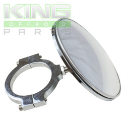 "4"" ROUND MIRROR WITH 1.50"" CLAMP"
