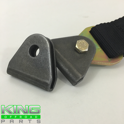 """DOUBLE SHEAR LIMIT STRAP / SEAT BELT TAB WITH 1/2"""" HOLE"""