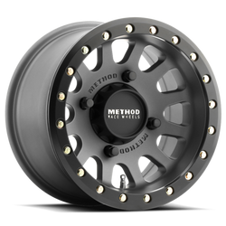 METHOD UTV WHEEL 401 BEADLOCK TITANIUM  -2 (4+4) 14X8