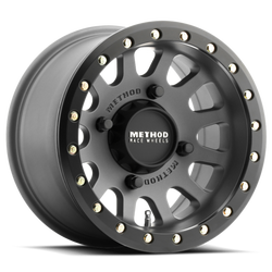 METHOD UTV WHEEL 401 BEADLOCK TITANIUM  -2 (5+5) 14X10