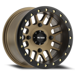 METHOD UTV BRONZE BEADLOCK 406 WHEEL 14 X 8 4 ON 156MM BOLT PATTERN