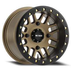 METHOD UTV WHEEL 406 BRONZE BEADLOCK  14 X 10 (4 0N 156MM)