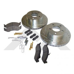 RT OFF ROAD DRILLED AND SLOTTED ROTOR KIT FRONT