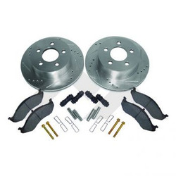 rear xj drilled and slotted rotor kit