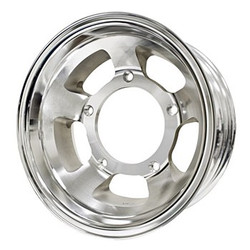 "16X4 BTR NON BEADLOCK WHEEL 1 3/4"" BACK SPACE"