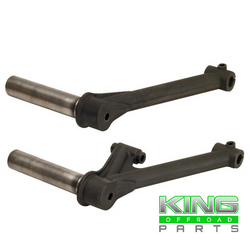 "FORGED FRONT VW TRAILING ARMS 2 1/2"" x 1 FOR USE WITH THROUGH ROD"