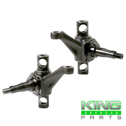 FORGED COMBO SPINDLES STANDARD HEIGHT FOR USE WITH INTERNATIONAL TIE ROD ENDS