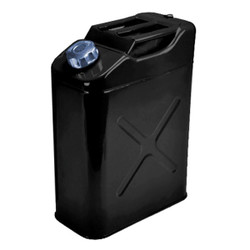 BLACK JERRY CONTAINER 5 GALLONS