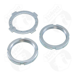 Replacement Spindle nut kit (two nuts and washer) for 1981 and newer Dana 50 and 60.
