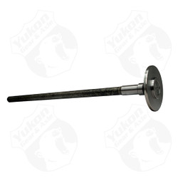 "Semi-floating axle blank with C/clip. 34.44"" inches long, 1.620"" bearing journal. Yukon 1541H alloy axles offer a strength increase over stock while retaining a low cost. Yukon 1541H axles come with a one year warranty against manufacturing defects."