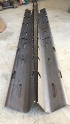 "Jeep XJ cherokee  unibody stiffeners center section 3/16"" thick"