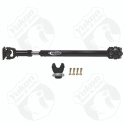 """Yukon OE-style Driveshaft for '12-'17 JK front. 1310 U/Joint. Fits 2-door and 4-door Rubicon and non-Rubicon. Automatic transmission only. Recommended up to 2.5"""" Lift w/ 33"""" Tires."""