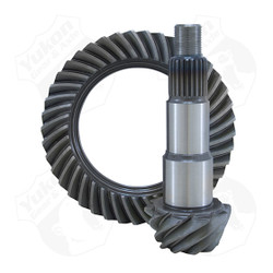 Yukon Ring & Pinion sets give you the confidence of knowing you're running gears designed for the harshest of conditions. Whether it's on the street, off-road, or at the track; Yukon ring & pinion sets deliver unrivaled performance & quality.      Yukon uses the latest designs and manufacturing technologies to provide a quiet running gear that is strong and easy to set up. All Yukon ring & pinion sets come standard with a one-year warranty.