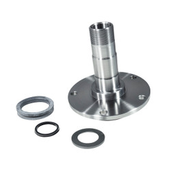 "Replacement front spindle for Dana 44, Ford F150, 5 hole  (aprox 6"" OD)."