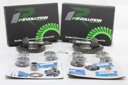 Jeep TJ 96-02 (D44THICK/D30) 4.56T gear package front & rear with Koyo master overhaul kits (Does not include carrier