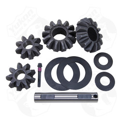 "10 Bolt open spider gear set for '00-'06 8.6"" GM with 30 spline axles. Fits case with one large window and one small window. A new carrier case will be needed for '99 vehicles in order to use this spider gear set. This spider gear set fits casting number 7875 & 1073."