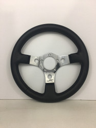 Grant steering wheel polished aluminum with 5 bolt patttern