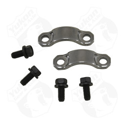 "7290 U/joint strap kit (4 bolts and 2 straps) for Chrysler 7.25"", 8.25"", 8.75"", and 9.25""."