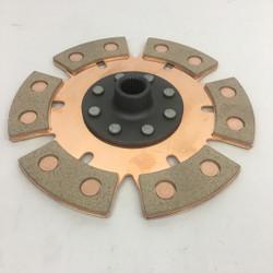"""6-puck  8"""" 200mm clutch disc"""