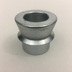 "Zinc coated misalignment for 1"" to 3/4"" bolt 2 5/8"" pocket"