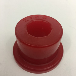 "red energy suspension urethane bushing for 1 3/4"" x .120 with 3/4"" hole"