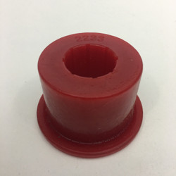 "red energy suspension urethane bushing for 2"" x .120 with 7/8"" hole"