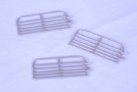 1/64 10ft Cattle Gates (silver)