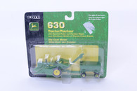 1/64 John Deere 630 with picker and wagon