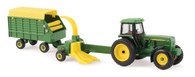 1/64 John Deere 4960 with Pull Type Forage Harvester and Wagon
