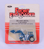 1/64 Ford TW35 with loader (Blue Stripe)