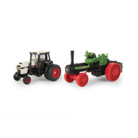 1/64 175th Anniversary Case 2594 & Steam Engine Set