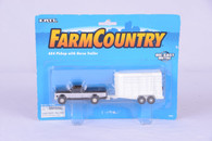 1/64 Ford pickup and horse trailer
