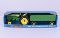 1/16 John Deere tractor and wagon
