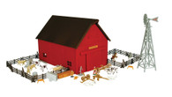 1/64 Ertl Farm Country Western Barn Playset