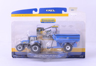 1/64 New Holland T8040 with Grain Cart