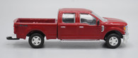 1/64 FORD F350 INGOT RUBY RED CREW CAB