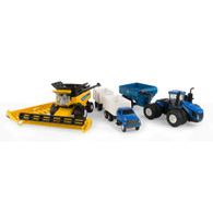 1/64 New Holland Harvesting set