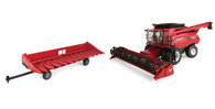 1/16 Big Farm Case International 8240 Combine Combo Set