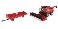 1/16 Big Farm Case International 8240 Combine Combo Set