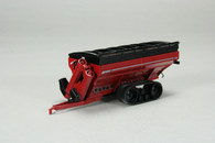 1/64 Brent 1196 Grain Cart (Red)  on tracks