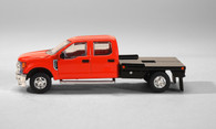 1/64 Ford F-250 Red Flat Bed