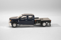 1/64 FORD F-250 Blue Flat Bed