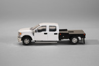 1/64 FORD F-250 White Flat Bed