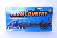 1/64 Peterbilt Conventional Cab with Log Trailer